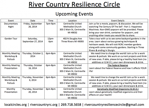 River Country RC Upcoming Events